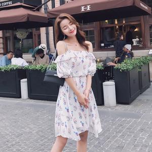 2759 质检+实拍+三标+视频 夏装 印花连衣裙