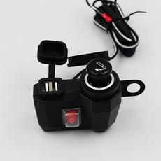 Прикуриватель для электромобиля/мотоцикла USB 12V