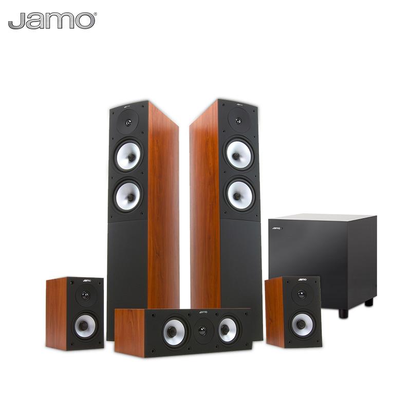 JAMO-尊宝 S526+SUB210家庭影院5.1套装中置环绕前置主音箱低音炮