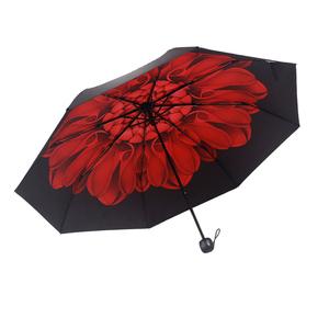 五折晴雨伞超轻全自动折叠伞男女迷你口袋伞自动太阳伞防紫外线