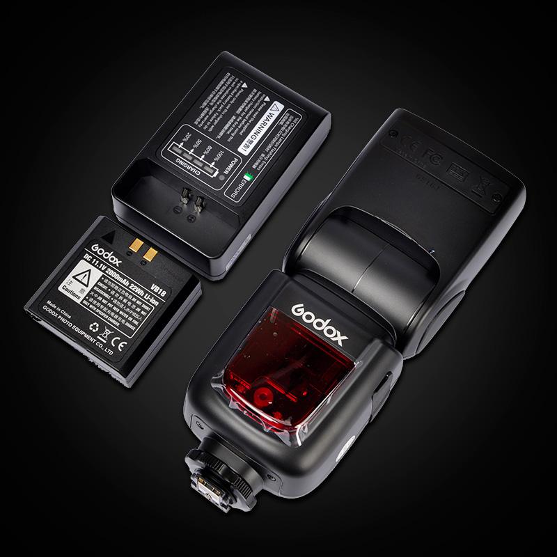 神牛V860II 二代 佳能尼康索尼 C-N-S-O 锂电池TTL高速机顶闪光灯