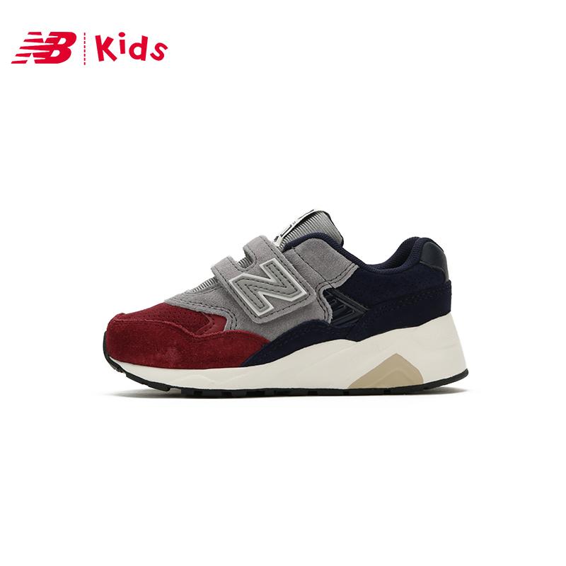 New Balance nb童鞋 男女童运动鞋4~7岁 魔术贴运动鞋KV580