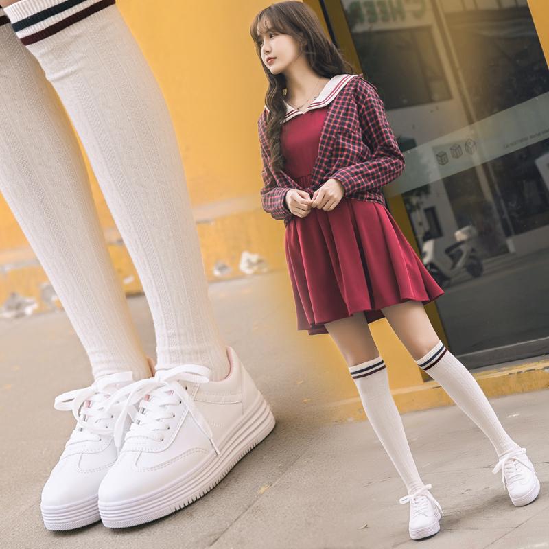 86小白鞋女春季2018百搭韩版板鞋学生平底休闲女鞋街拍鞋子