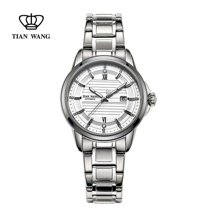 天王表机械表女表商务休闲复古品质手表女士腕表5794