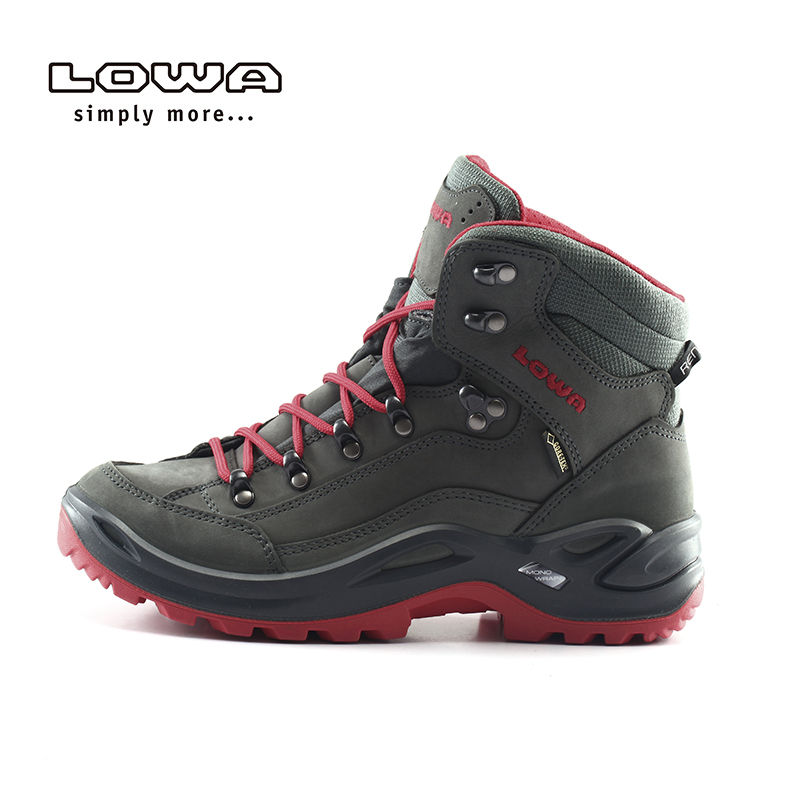 LOWA户外防水登山鞋RENEGADE GTX多彩女式中帮鞋L320945 027