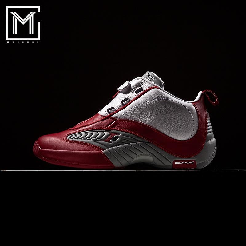 锐步-REEBOK ANSWER IV 艾弗森4代铁盒限定白红男子篮球鞋 V44403