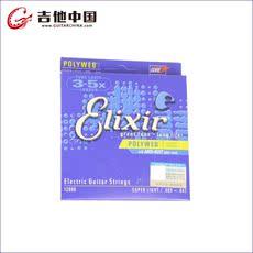 Струны для электрогитары Elixir NANOWEB/POLYWEB 009/010