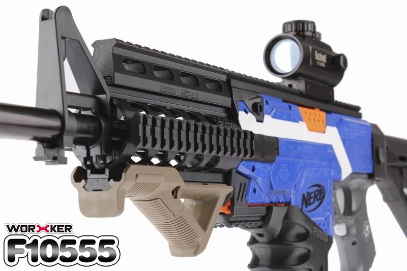 Nerf toy modified accessories 87 STF dead pull husband (M4) special front tube adjustment parts [3D printing]