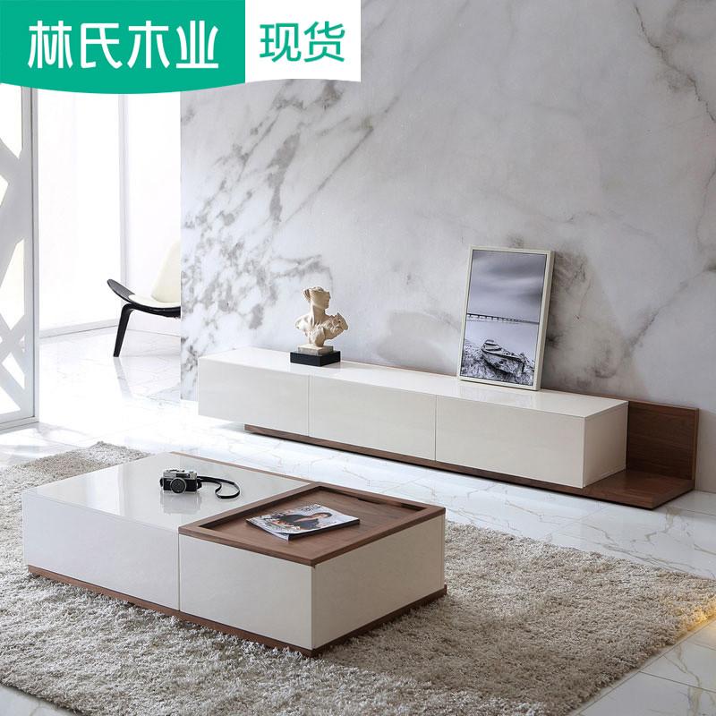 小户型迷你落地电视柜组合墙柜简约现代客厅影视柜储物柜子EF1M