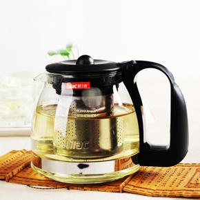 紫丁香耐热玻璃茶壶过滤加厚玻璃泡茶器
