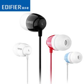 Edifier/漫步者 H210耳机入耳式重低音手机通用音乐魔音苹果耳塞