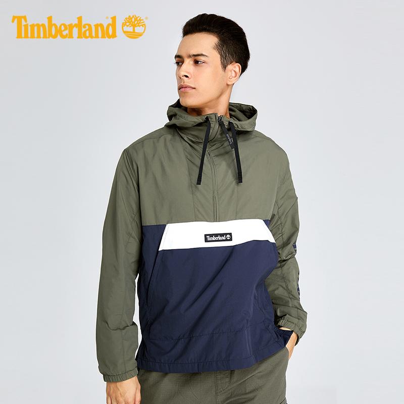 Timberland-添柏岚男装18秋冬潮流连帽套头外套|A1N8C