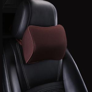 汽车头枕护颈枕车用枕头一对记忆棉靠枕车内用品可爱车载座椅腰靠