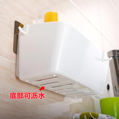 卫生间用品置物架浴室墙上壁挂厕所免打孔洗手间洗漱用品收纳用具