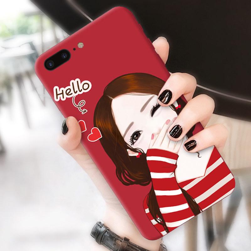 苹果7plus手机壳女款韩国潮牌iphone7个性创意i7plus硅胶7p防摔套