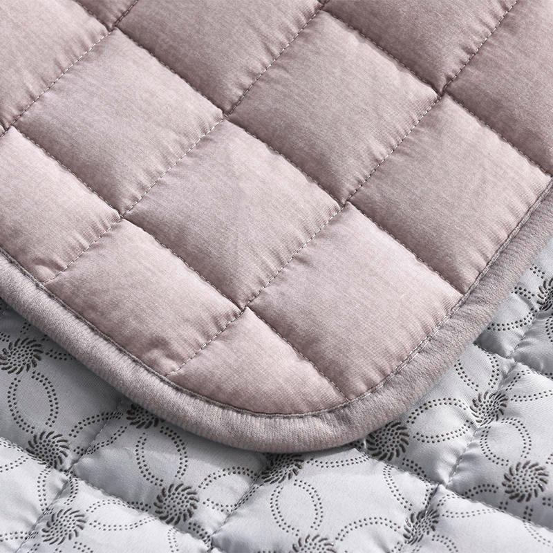可水洗床垫 纯棉床褥垫子防滑四季薄款地铺垫子折叠防潮隔凉1.2m