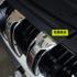 适用于丰田霸道普拉多中网饰条2700 4000蜂窝格栅 不锈钢中网改装