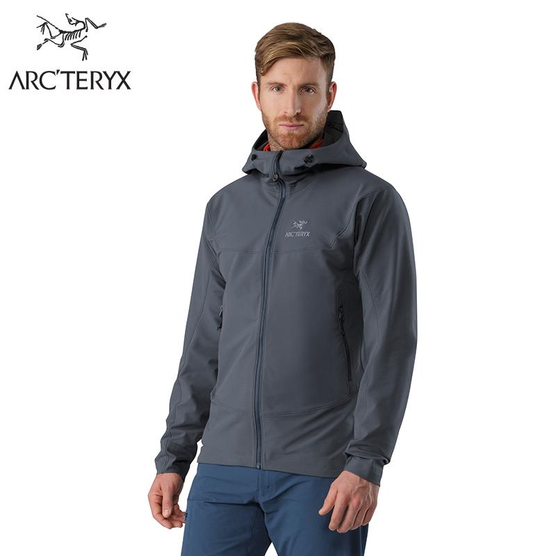 Arcteryx始祖鸟户外软壳衣 男带帽外套 Gamma LT