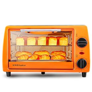 荣事达电烤箱11升小型烤箱多功能家用烘焙控温迷你蛋糕全自动正品