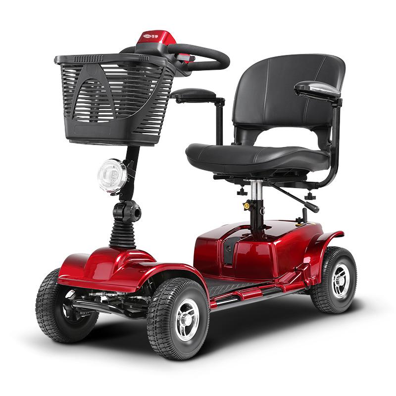 可孚老人代步车四轮电动折叠轻便残疾人电动轮椅智能全自动锂电池