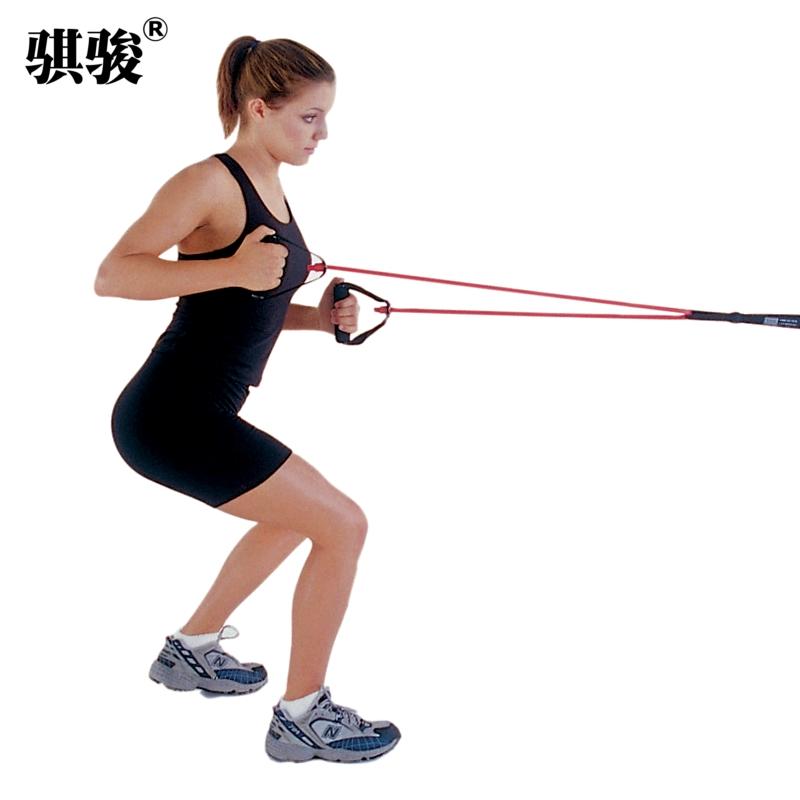 家用多功能拉力绳一字弹力绳力量训练拉力器弹力带男女健身器材