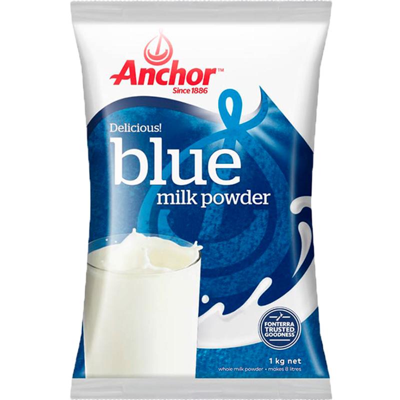 新西兰原装进口青少年成人奶粉 安佳冲饮调制乳粉高钙全脂奶粉1kg