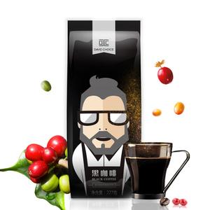 大卫之选速溶黑咖啡纯咖啡粉无蔗糖袋装咖啡227g无奶特浓苦咖啡