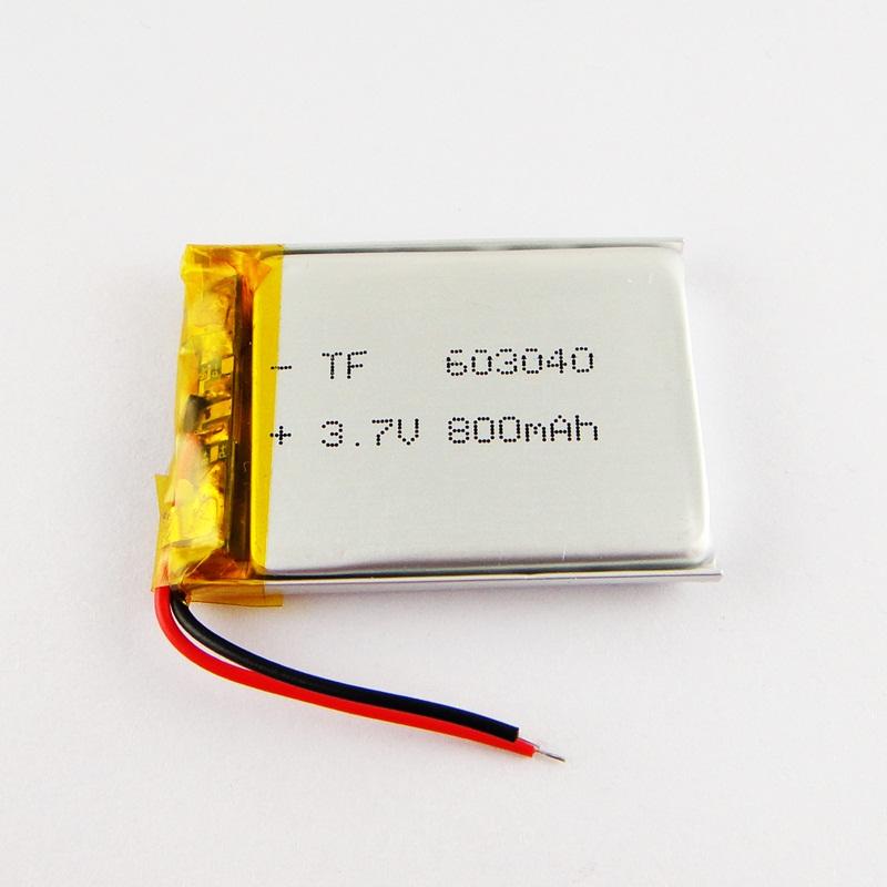 伯朗 GPS导航仪063040无线603040蓝牙音箱3.7v聚合物锂电池800mAh