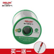 Припой Delixi electric 0.8mm 1.0/1.2mm