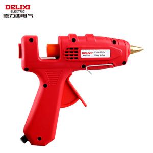 德力西热熔胶枪 家用手工制作玻璃电胶枪热熔7mm11胶棒胶水条枪