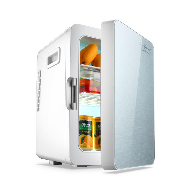 德国coob 20L车载冰箱迷你小冰箱小型家用制冷宿舍车家两用冷藏箱