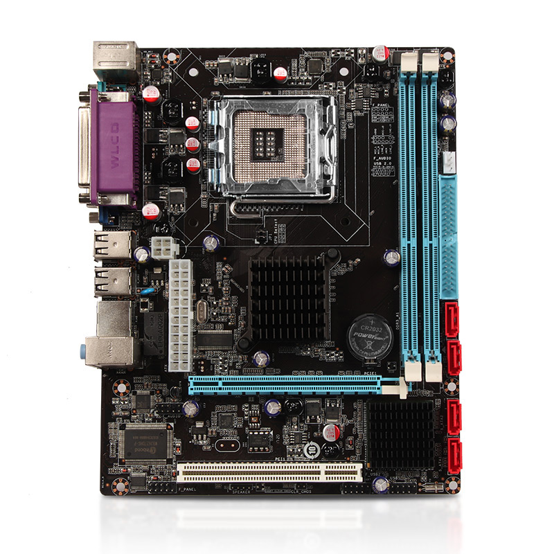 众成泽丰 G41台式机全新主板支持775针cpu带IDE接口双核DDR3内存