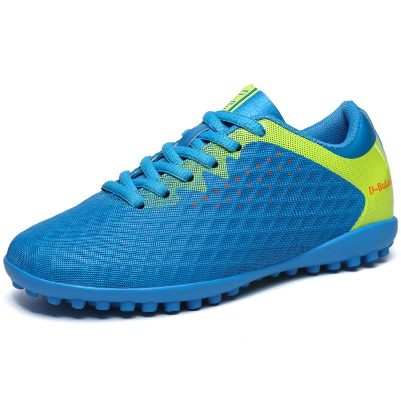 丹步伦青少年足球鞋男女儿童小学生男童碎钉TF透气人造草地训练鞋