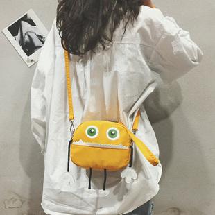 【鞋包】韩版百搭斜挎小包包女2018新款潮单肩包学生牛津布包ins超火小包