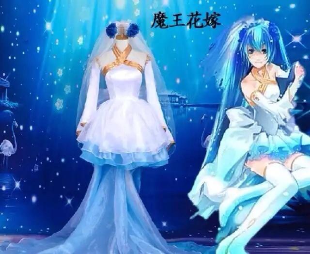 【挂挂挂】魔王花嫁cos公主初音miku