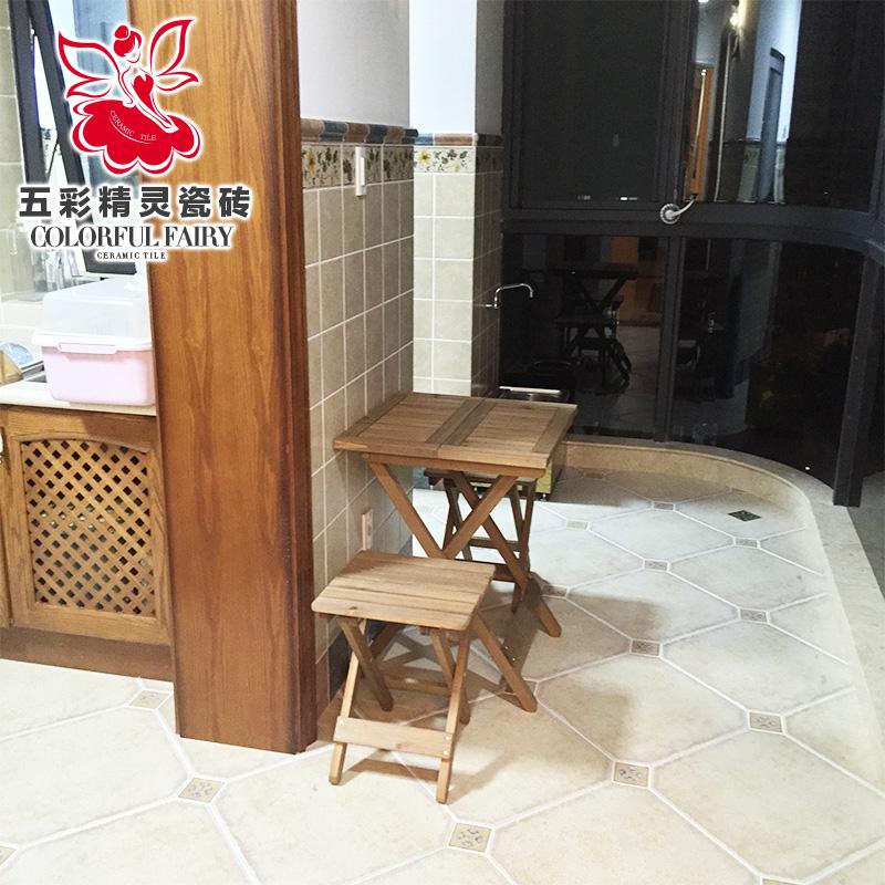 五彩精灵美式乡村瓷砖FB45107