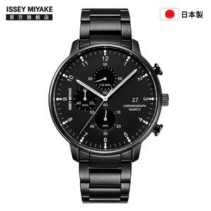 Issey Miyake三宅一生手表岩崎一郎老罗推荐钢带手表男大表盘手表