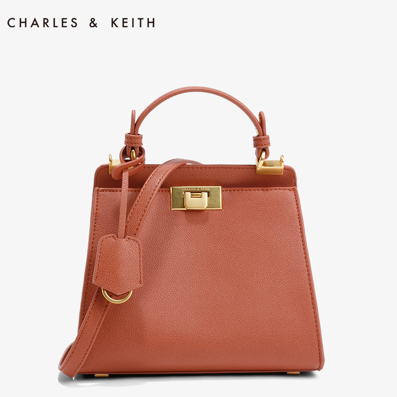 2018 new design genuine leather women's bag Kelly small squa...