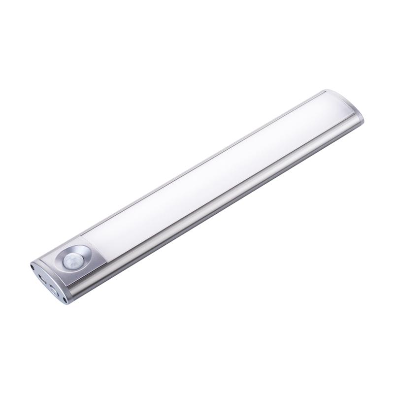 led无线人体红外感应灯自动磁吸充电家用走廊过道橱柜灯起夜小灯