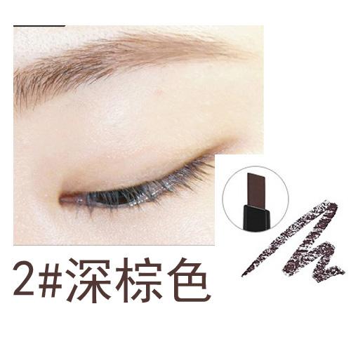 Korea genuine Holika Holika double head rotation Eyebrow pen Eyebrow brush lasting not dizzy waterproof anti-feed eyebrow card