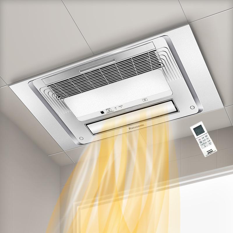 松下集成吊顶浴霸灯卫生间五合一多功能家用风暖风机浴室霸嵌入式