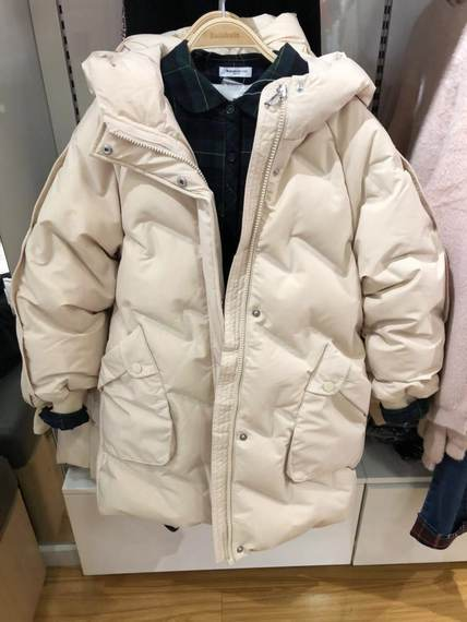 Balla Balla Women 's 중학교 큰 어린이 Long Down Jacket 2019 Winter New Casual Jacket 22074190208