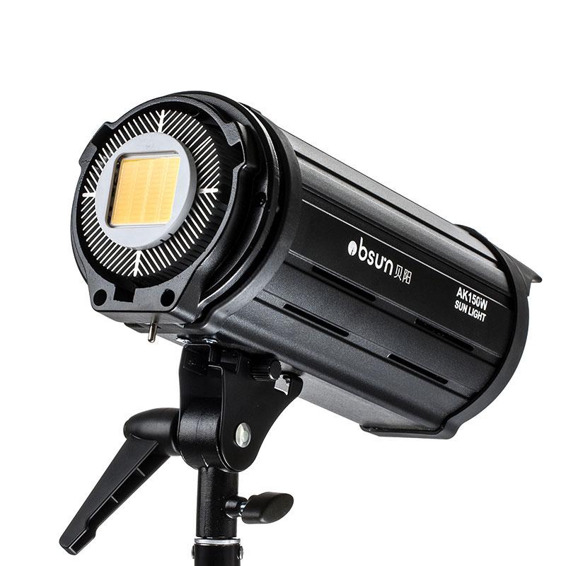 贝阳150W LED摄影灯常亮视频摄像电影静物拍照相家用主播直播灯光柔光太阳补光灯录视频摄影棚摄像婚纱