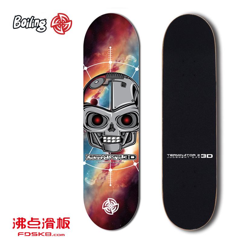 沸点BOILING滑板 入门级专业滑板 四轮滑板 双翘滑板 成人滑板