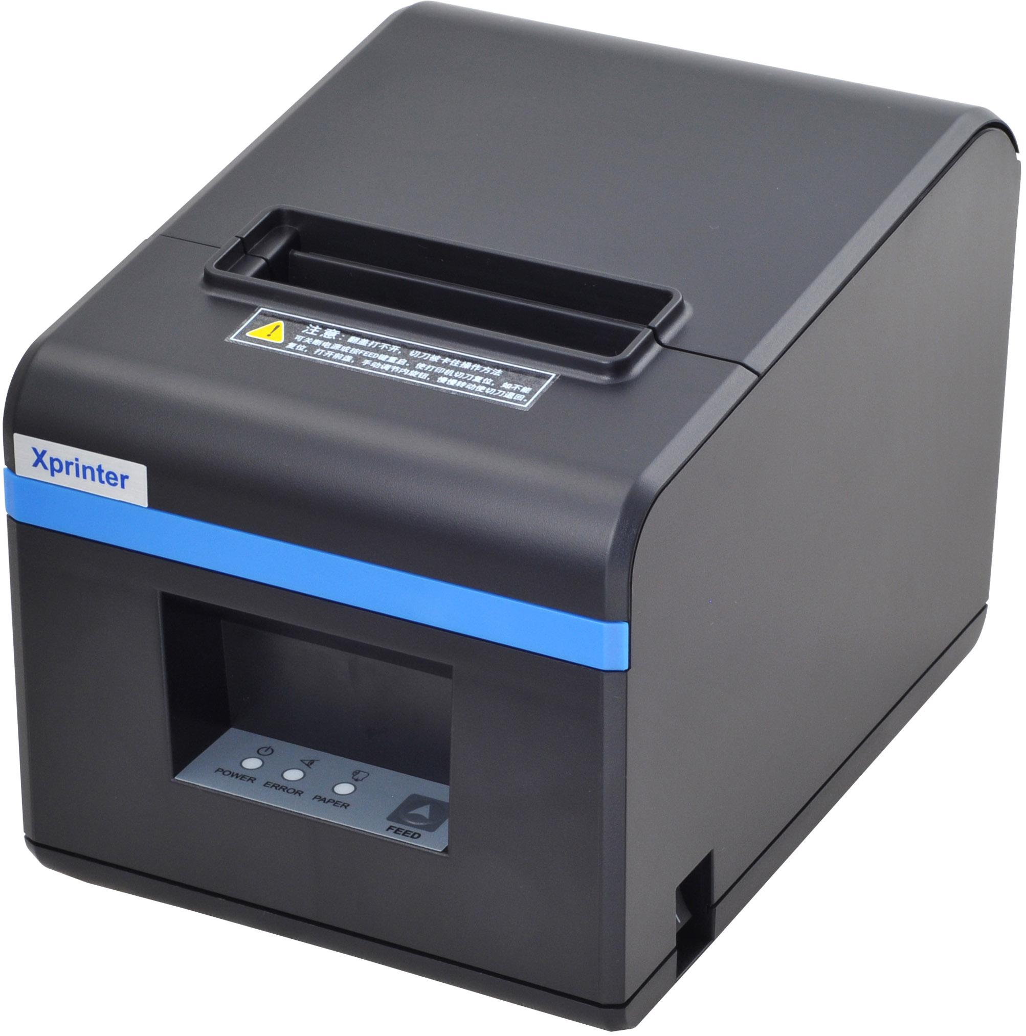 芯烨N160II热敏蓝牙打印机小票据80mm餐饮收银网口切刀厨房打印