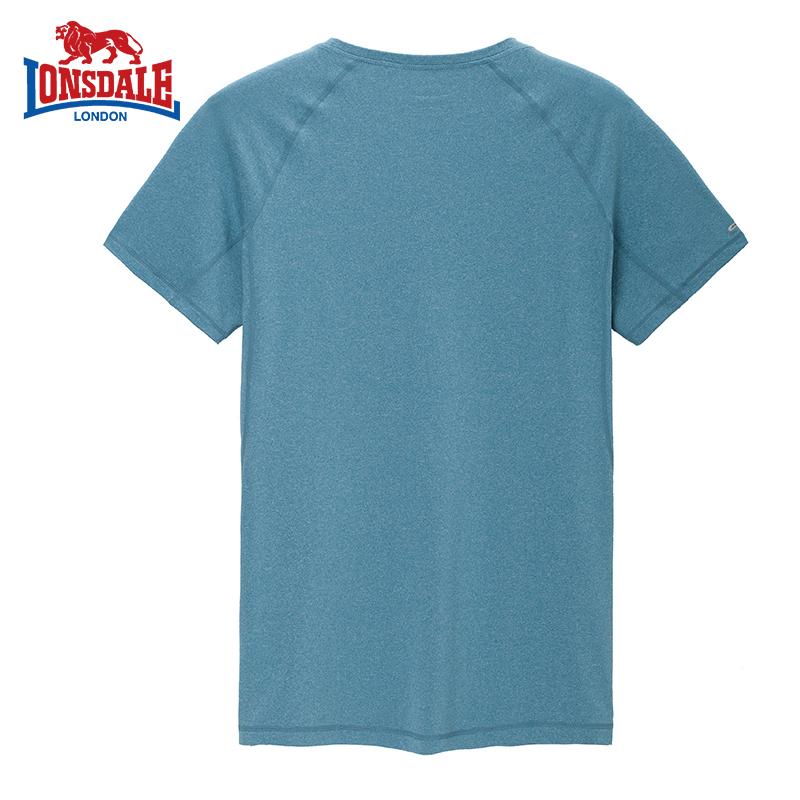 龙狮戴尔2019夏季新款男士圆领短袖T恤韩版简约休闲运动上衣
