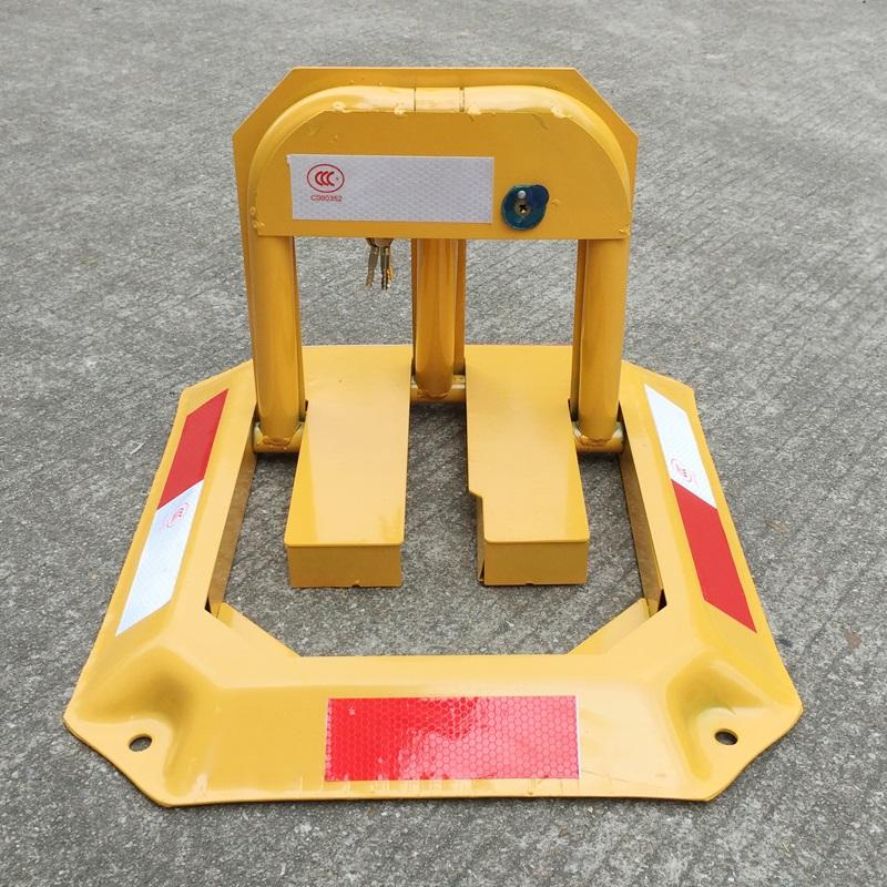 汽车停车位地锁八角车位锁加厚防撞固定防占车位神器停车桩占位锁