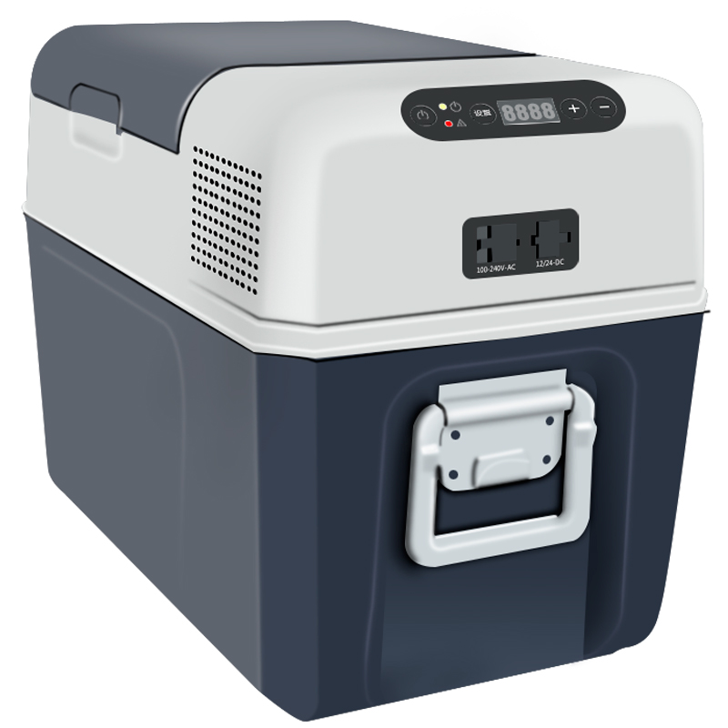 美固车载冰箱压缩机制冷车家两用汽车办公室便携冷藏冷冻小型冰柜
