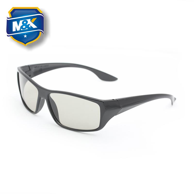 美匡不闪式偏光3d立体眼镜 被动式RealD影院影厅专用偏振式