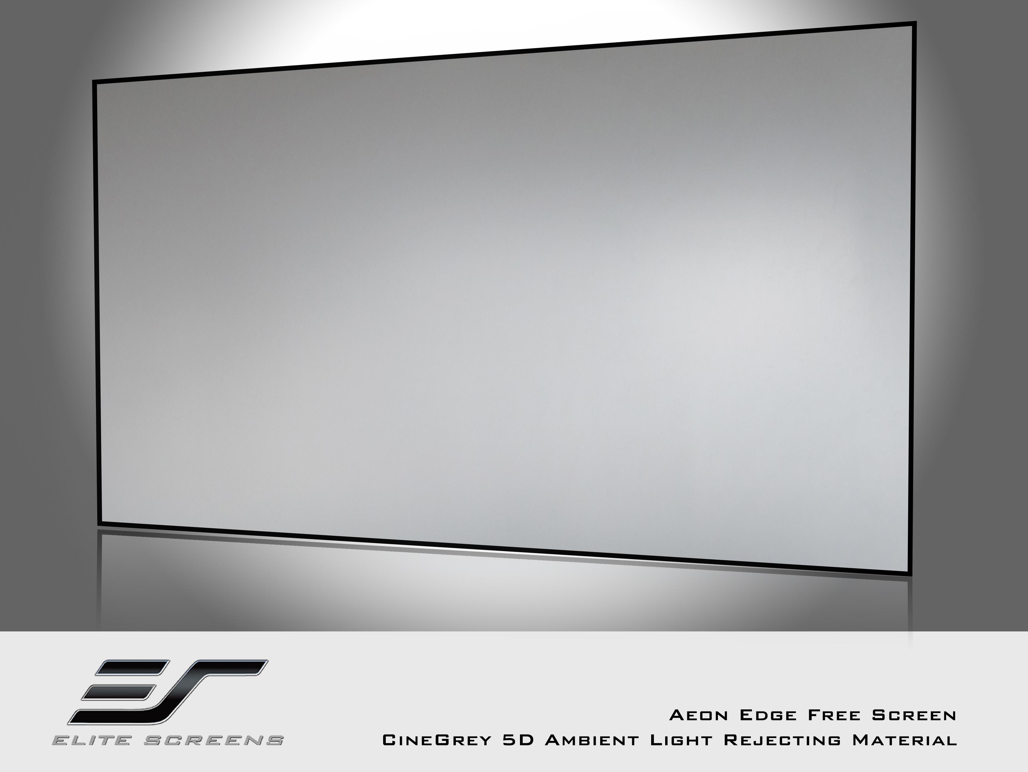 亿立Aeon画框幕布AR100WH1窄边框画框幕100寸高清投影仪幕布